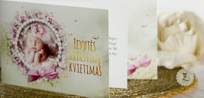 Krikštynų kvietimų pavyzdžiai