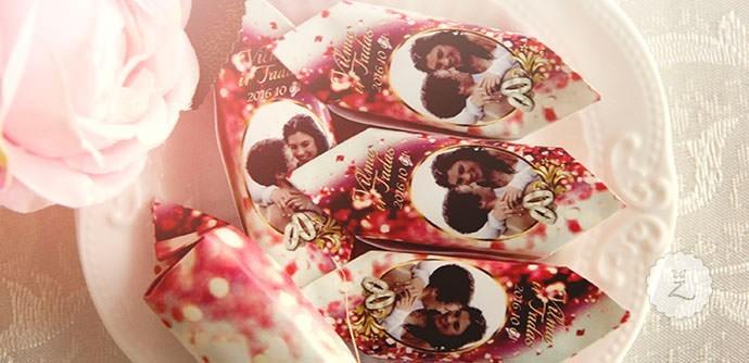 Individualus vestuvių saldainiai