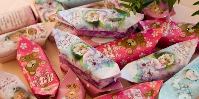 Individualus gimtadienio saldainiai