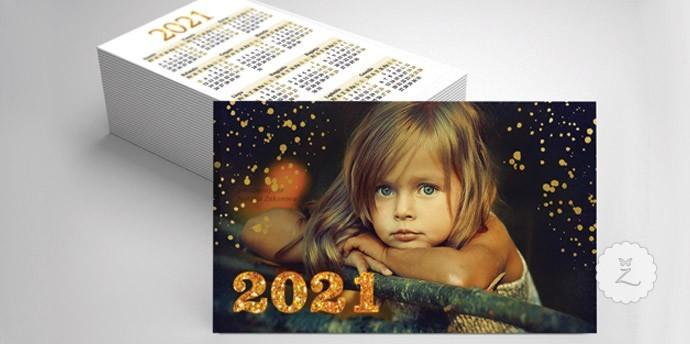 Kišeniniai kalendoriukai 2018 su nuotrauka logotipu foto logo