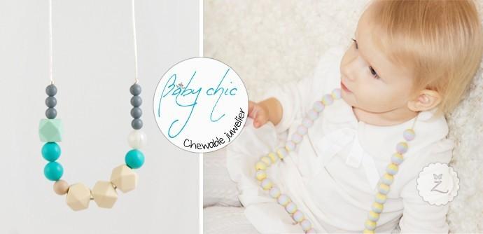 Kaklo papuošalai kūdikiams ir vaikams iš FDA silikono