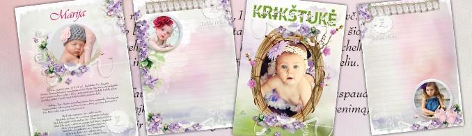 Krikštynų sveikinimų žurnalas