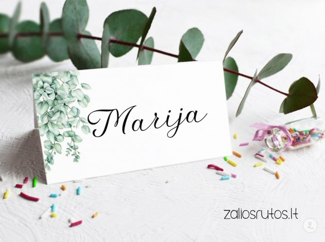Stalo kortelės vestuvių dekoras